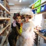 Cats Europatournee Karen Selig(Jellylorum/Griddlebone) und Cornelia Waibel(Demeter)