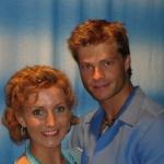 Mamma Mia! Stuttgart Karen Selig(Sophie) und Felix Maximilian(Sky)