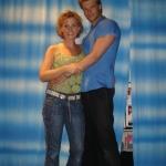 Mamma Mia!Stuttgart Karen Selig(Sophie) und Felix Maximilian(Sky)